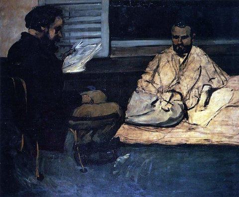 Paul Cezanne Paul Alexis Reading to Zola - Hand Painted Oil Painting