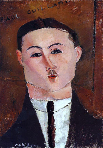 Amedeo Modigliani Paul Guillaume - Hand Painted Oil Painting