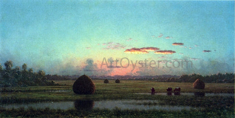 Martin Johnson Heade Peace at Sunset - Hand Painted Oil Painting