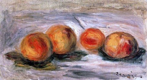 Pierre Auguste Renoir Peaches - Hand Painted Oil Painting