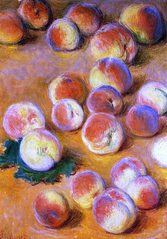 Claude Oscar Monet Peaches - Hand Painted Oil Painting