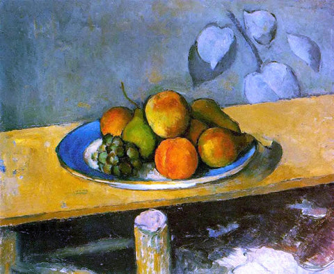 Paul Cezanne Peaches, Pears and Grapes - Hand Painted Oil Painting