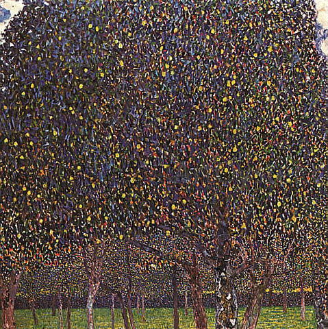 Gustav Klimt Pear Tree - Hand Painted Oil Painting