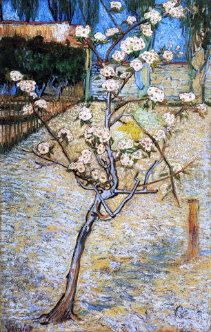 Vincent Van Gogh Pear Tree in Blossom - Hand Painted Oil Painting