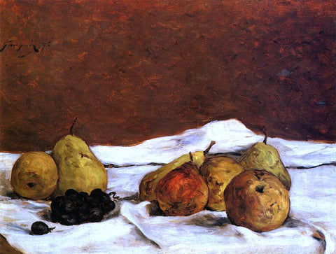 Paul Gauguin Pears and Grapes - Hand Painted Oil Painting