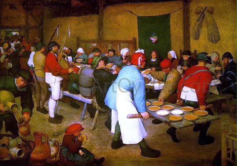 The Elder Pieter Bruegel Peasant wedding - Hand Painted Oil Painting