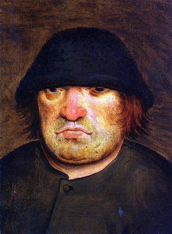 The Younger Pieter Bruegel Peasant's Head - Hand Painted Oil Painting