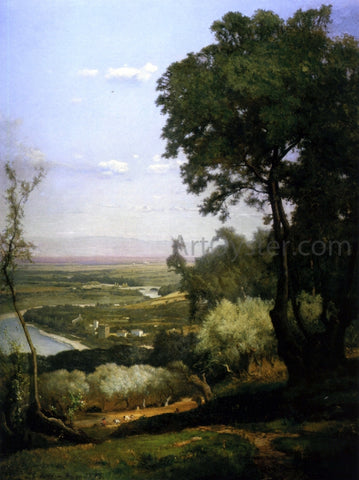 George Inness Perugia - Hand Painted Oil Painting