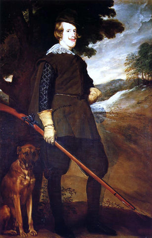Diego Velazquez Philip IV as a Hunter - Hand Painted Oil Painting