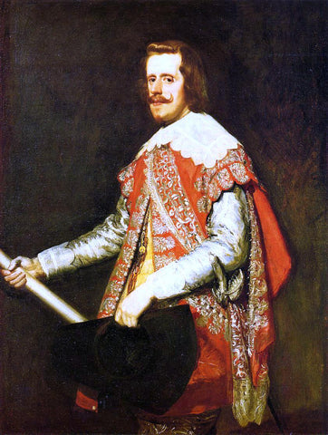 Diego Velazquez Philip IV at Fraga - Hand Painted Oil Painting