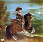 Diego Velazquez Philip IV on Horseback - Hand Painted Oil Painting