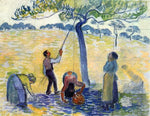 Camille Pissarro Picking Apples - Hand Painted Oil Painting