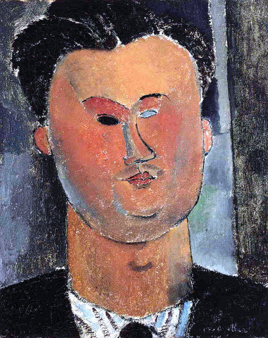Amedeo Modigliani Pierre Reverdy - Hand Painted Oil Painting