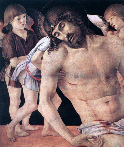 Giovanni Bellini Pieta (detail) - Hand Painted Oil Painting