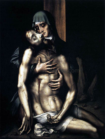 Luis De Morales Pieta - Hand Painted Oil Painting