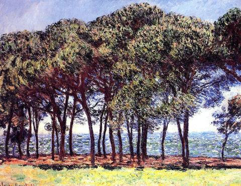 Claude Oscar Monet Pine Trees, Cap d'Antibes - Hand Painted Oil Painting