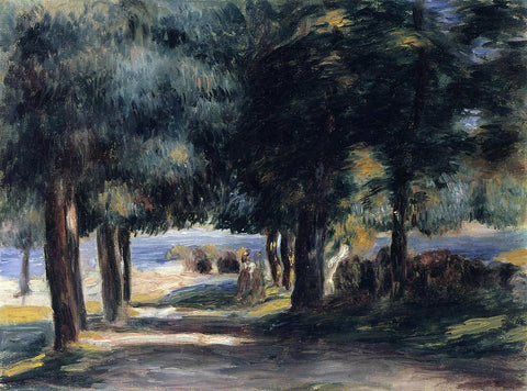 Pierre Auguste Renoir Pine Wood on the Cote d'Azur - Hand Painted Oil Painting