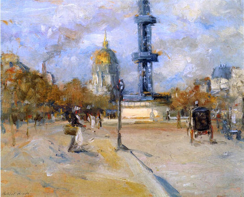 Robert Henri Place in Paris - Hand Painted Oil Painting