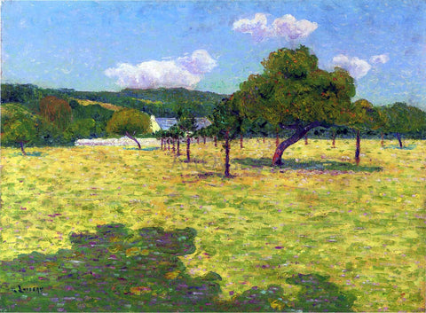 Gustave Loiseau Plain of Coteaux - Hand Painted Oil Painting