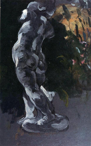 Paul Cezanne Plaster Cupid - Hand Painted Oil Painting