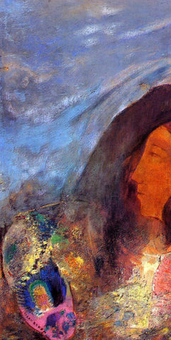 Odilon Redon Poet's Dream - Hand Painted Oil Painting