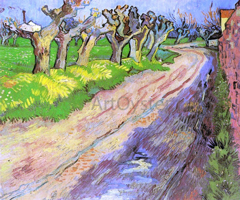 Vincent Van Gogh Pollard Willows - Hand Painted Oil Painting