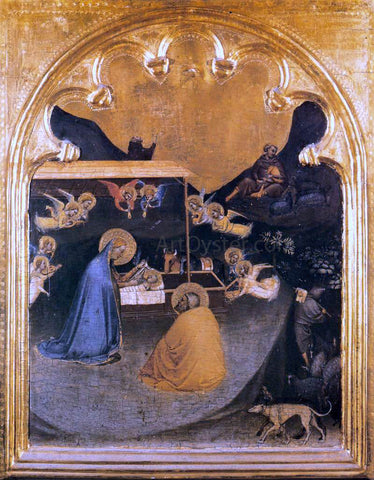 Bernardo Daddi Polyptych of San Pancrazio: Predella panel - Hand Painted Oil Painting