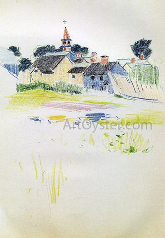 Arthur Wesley Dow Pond - Hand Painted Oil Painting