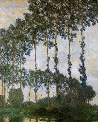Claude Oscar Monet Poplars near Giverny, - Hand Painted Oil Painting