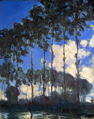 Claude Oscar Monet Poplars on the Banks of the Epte - Hand Painted Oil Painting