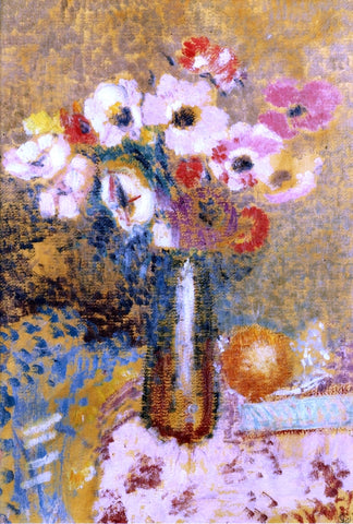 Georges Lemmen Poppies - Hand Painted Oil Painting