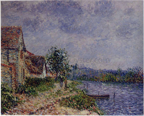 Gustave Loiseau Port Joie - Hand Painted Oil Painting