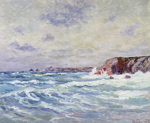 Maxime Maufra Port-Bara (also known as Near the Ile de Quiberon) - Hand Painted Oil Painting