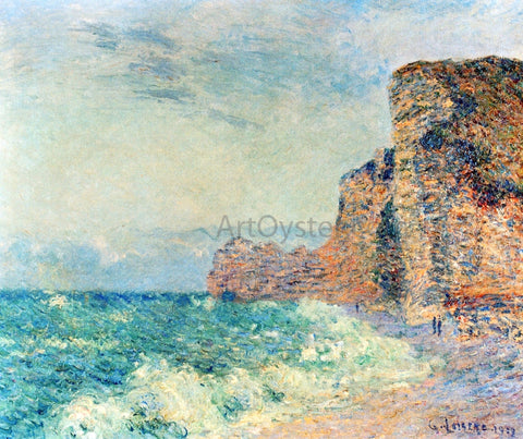 Gustave Loiseau Porte d'Amont, Etretet - Hand Painted Oil Painting