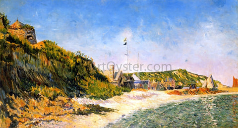 Paul Signac Port-en Bessin, the Beach - Hand Painted Oil Painting