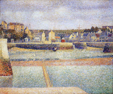 Georges Seurat Port-en-Bessin, The Outer Harbor, Low Tide - Hand Painted Oil Painting