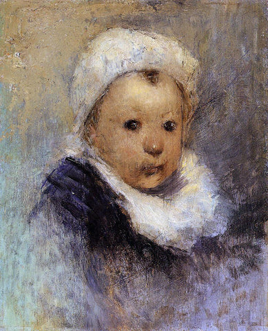 Paul Gauguin Portrait of a Child (Aline Gauguin?) - Hand Painted Oil Painting