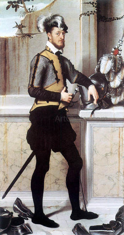 Giovanni Battista Moroni Portrait of a Gentleman - Hand Painted Oil Painting