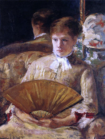Mary Cassatt Portrait of a Lady (also known as Miss Mary Ellison) - Hand Painted Oil Painting