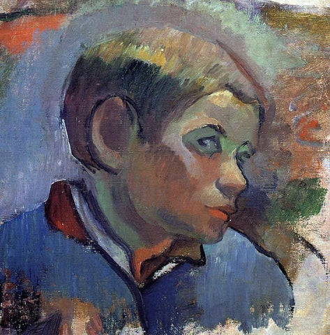 Paul Gauguin Portrait of a Little Boy - Hand Painted Oil Painting
