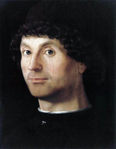 Antonello Da Messina Portrait of a Man - Hand Painted Oil Painting
