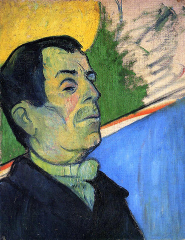 Paul Gauguin Portrait of a Man Wearing a Lavalliere - Hand Painted Oil Painting