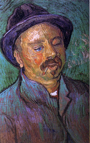 Vincent Van Gogh Portrait of a One-Eyed Man - Hand Painted Oil Painting