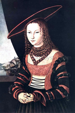The Elder Lucas Cranach Portrait of a Woman - Hand Painted Oil Painting