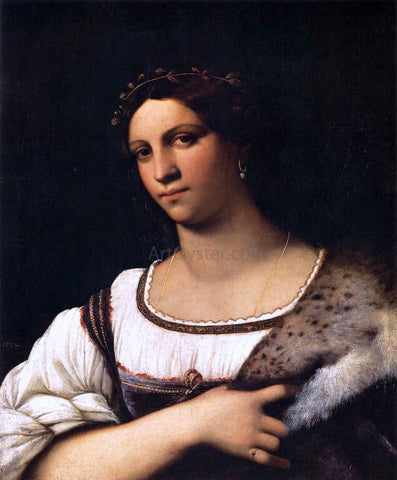 Sebastiano Del Piombo Portrait of a Woman - Hand Painted Oil Painting