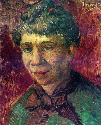 Vincent Van Gogh Portrait of a Woman - Hand Painted Oil Painting