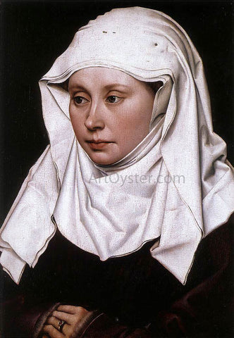 Robert Campin Portrait of a Woman - Hand Painted Oil Painting