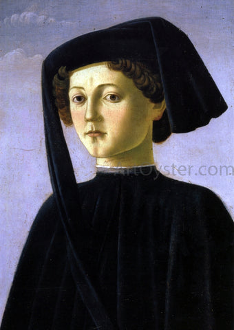 Francesco Botticini Portrait of a Youth - Hand Painted Oil Painting