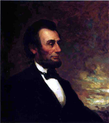 George Henry Story Portrait of Abraham Lincoln - Hand Painted Oil Painting