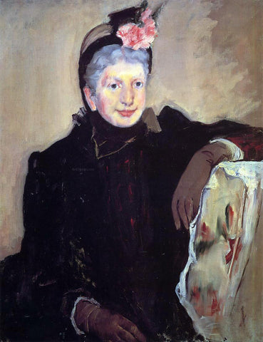 Mary Cassatt Portrait of an Elderly Lady - Hand Painted Oil Painting